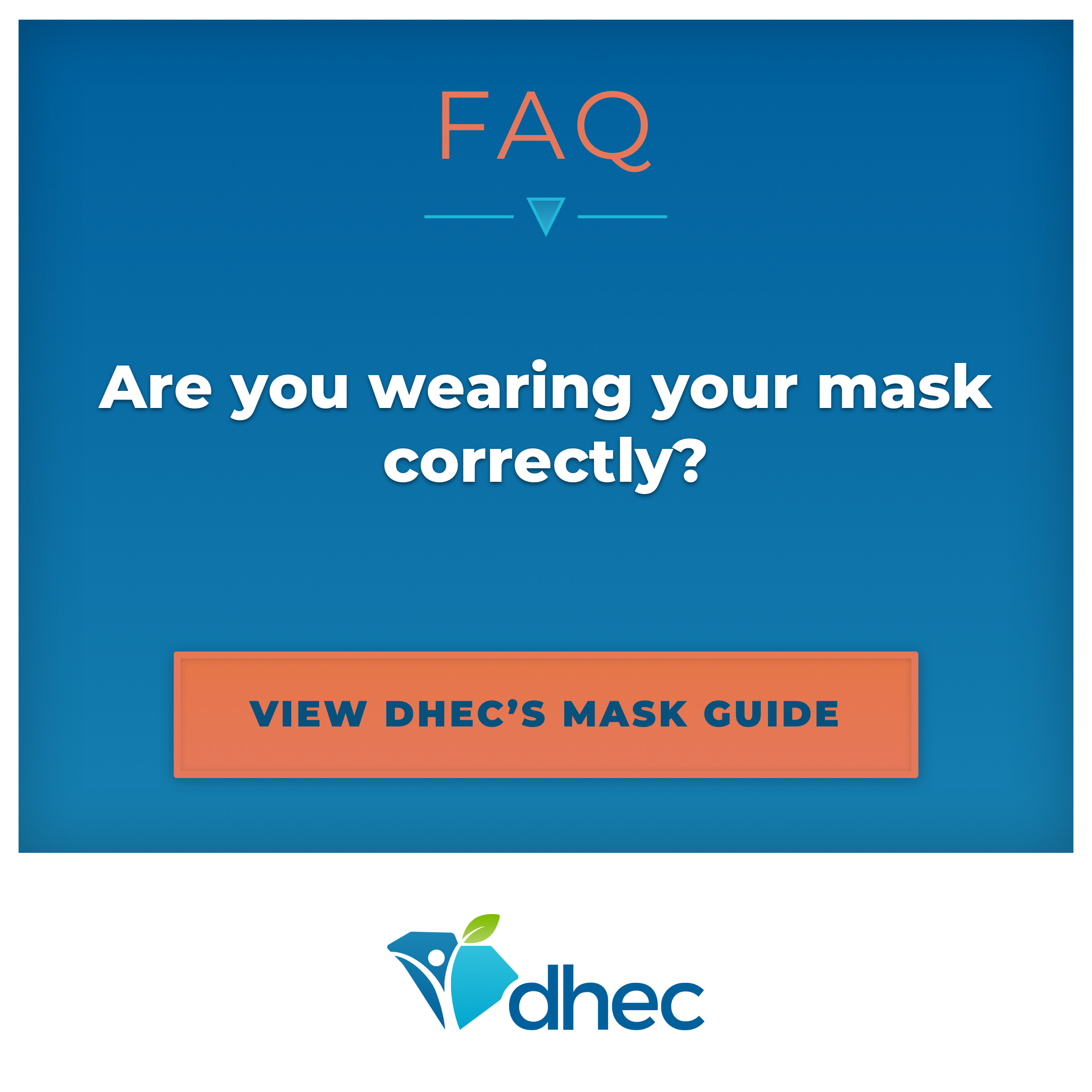 Are you wearing your mask correctly?